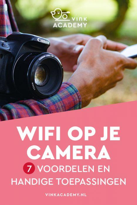 Wifi op je camera (Nikon, Canon, Sony, Pentax)