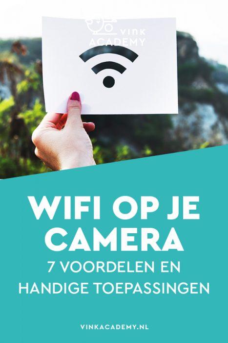 Wifi op je camera (Nikon, Canon, Sony, Pentax, Olympus, Fujifilm)