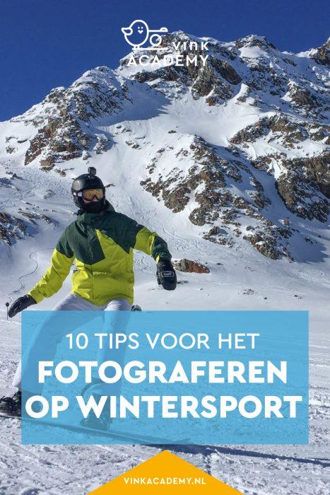 Tips voor het fotograferen in de sneeuw tijdens de wintersport