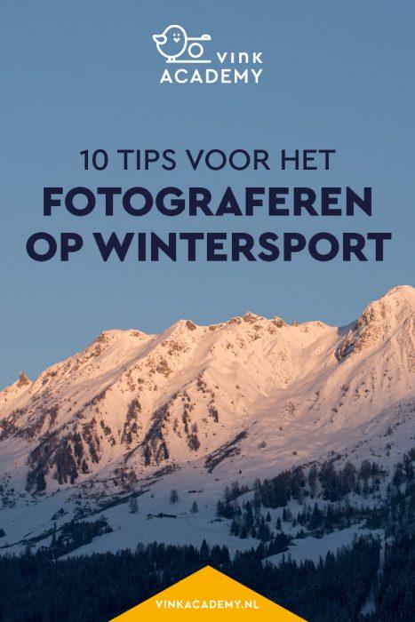 Fotografietips voor de wintersport in Oostenrijk, Frankrijk of Zwitserland