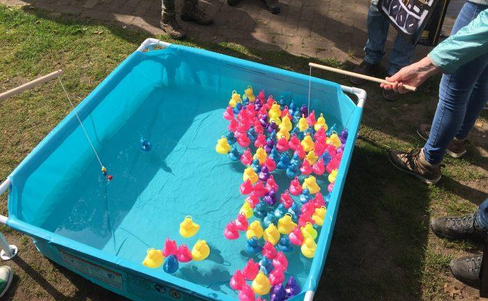Zwembadje met badeendjes!